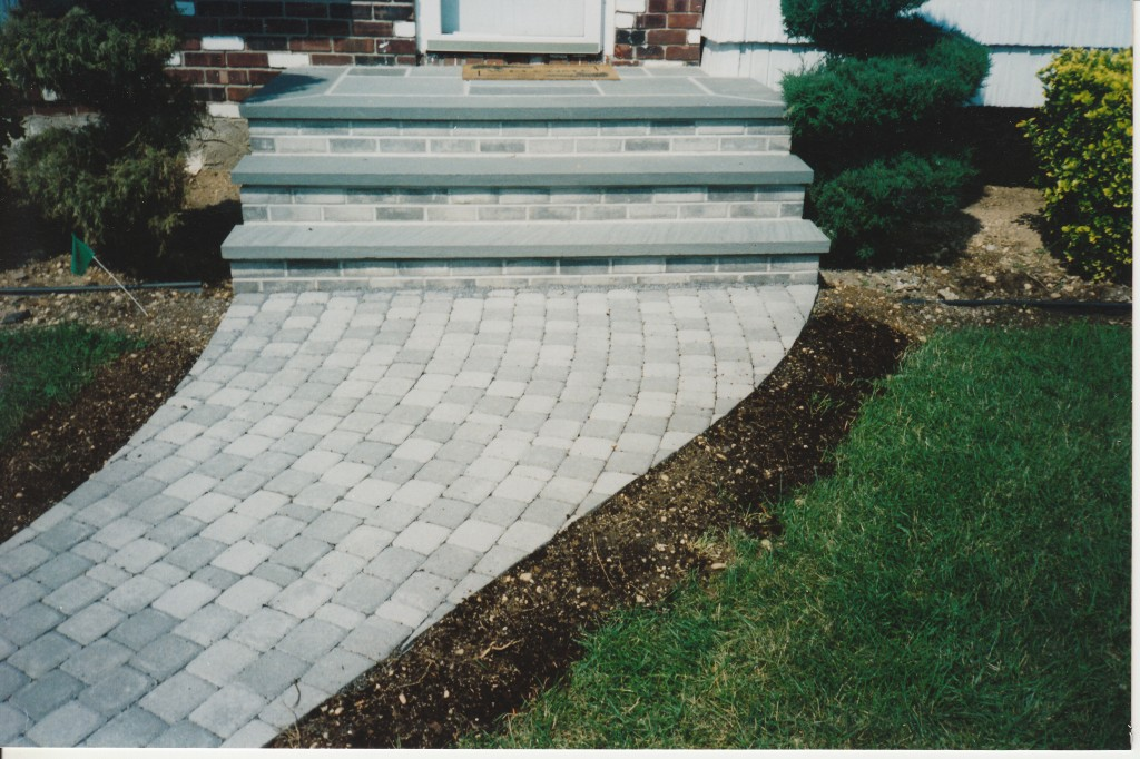 Unique Concrete Paver Steps and Stoops | Concrete Pavers Guide KD41